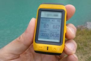Escursioni in montagna tecnologia GPS