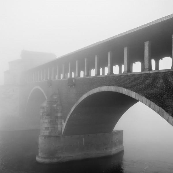 Pavia nella nebbia