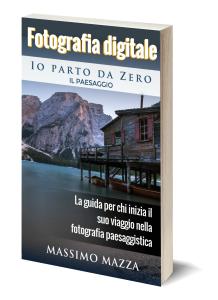 Libro di fotografia di paesaggio