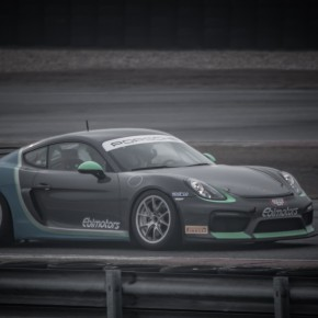 Porsche sul circuito Tazio Nuvolari