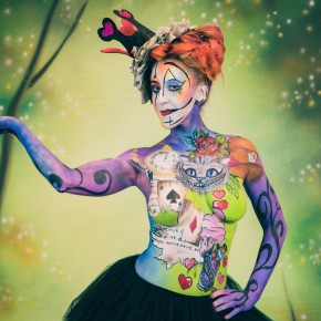 Shooting Body Painting