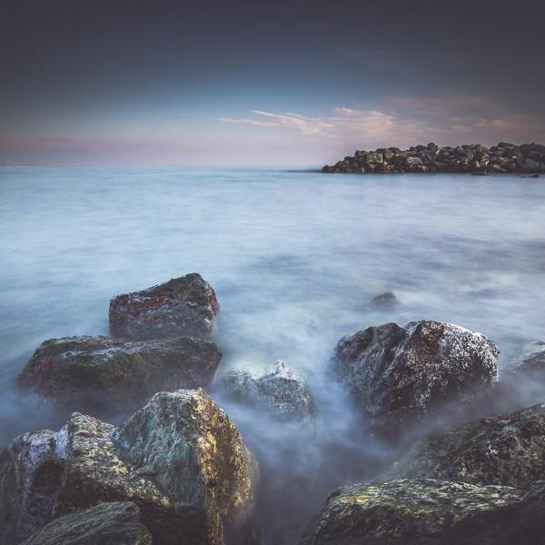 Scogli e spiaggia di Arenzano