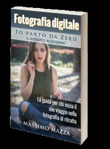 libro di fotografia di ritratto