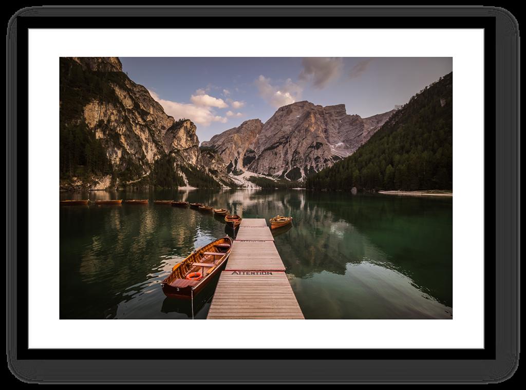 Stampe Fine Art Paesaggio Dolomiti Lago di Braies