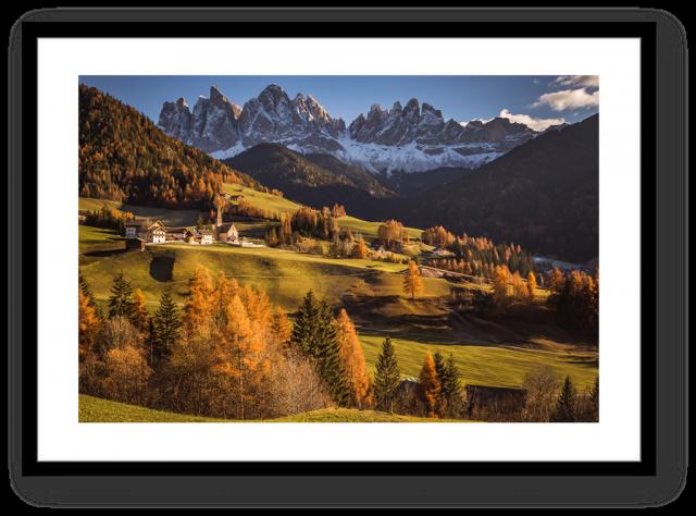 Stampe Fine Art Paesaggio Dolomiti Val di Funes