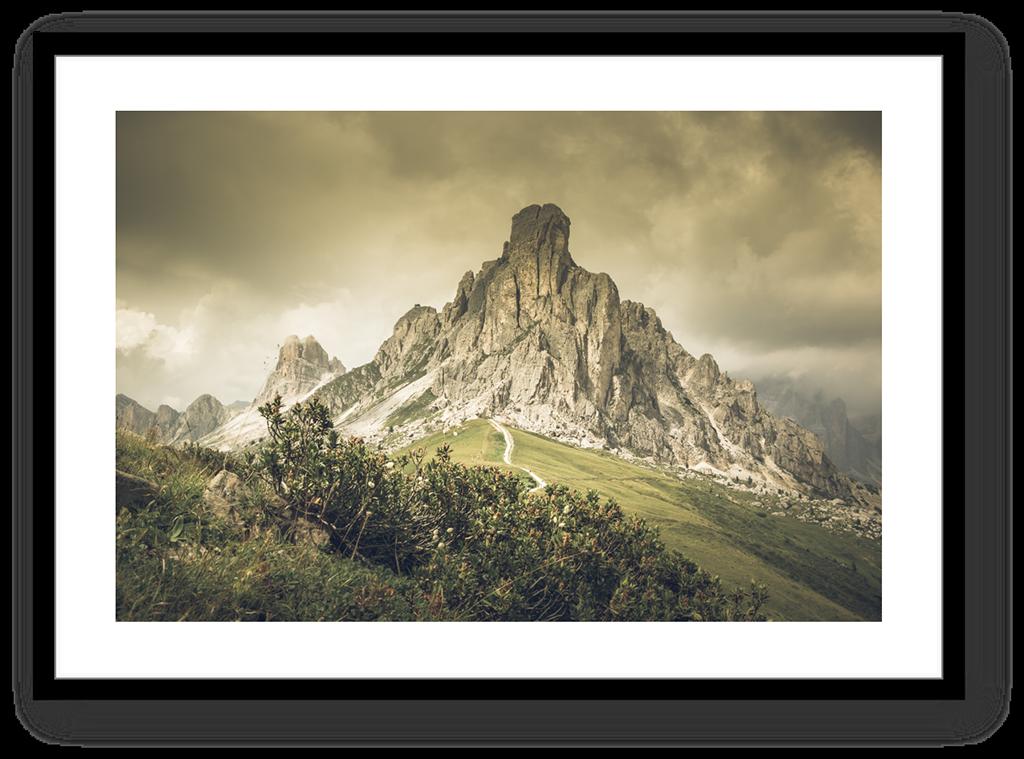 Stampe Fine Art Paesaggio Dolomiti Passo Giau