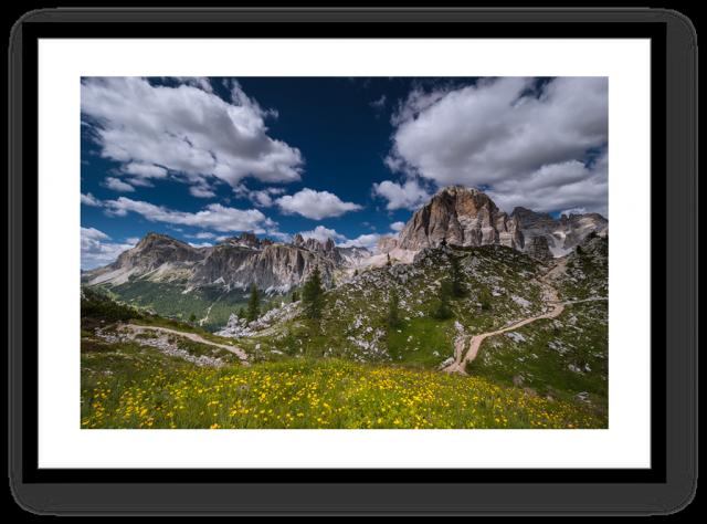 Stampe Fine Art Paesaggio Dolomiti Tofane