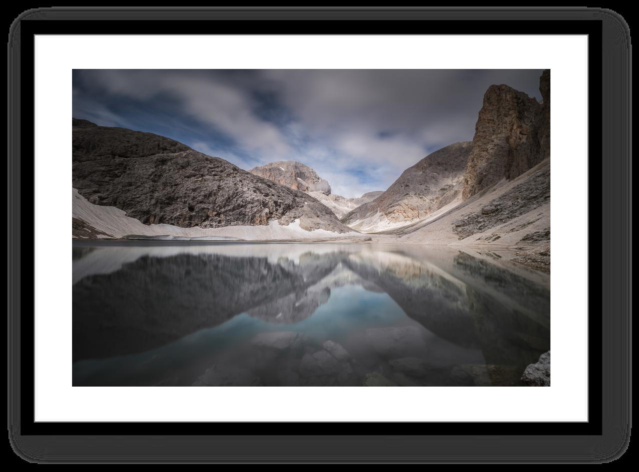 Stampe Fine Art Paesaggio Lago di Antermoia